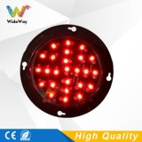 Kundenspezifisches Lampen-Verkehrszeichen-Licht des 100mm Mischungs-rotes Grün-LED