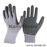 Nmsafetyのゴム製乳液のやし上塗を施してある構築の働く手袋