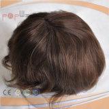 PU Back Lace Front Toupee Cabello indio-L-01368 (PPG)