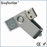 Kristallglas-Schwenker USB-Blitz-Laufwerk mit LED-Licht (XH-USB-001C)
