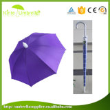Горячие продажи рекламы поощрения зонтик с пластиковым покрытием
