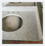 Partie supérieure du comptoir en gros chinoise de granit de marbre/quartz pour la cuisine et la salle de bains