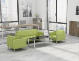 현대 가죽 사무실 소파, 최신 판매 소파 무대 디자인