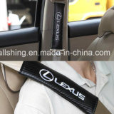 Il carbonio della cintura di sicurezza di marchio dell'automobile copre i rilievi di spalla per Renault