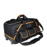 Heavy Duty lona negra de 16 pulgadas plegable Bolsa de herramientas Jg-Djb4122