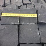 Em basalto negro Trumbled Tijolos, blocos, pavimentadoras