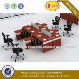 木MDFのオフィスの区分クラスタ事務員のスタッフワークステーション(HX-CRV005)