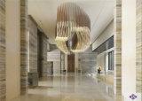 Grandi lastra & mattonelle di marmo di legno bianche di cristallo naturali, marmo di bianco della Cina