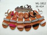 Мода Леди обувь леди клин сандалии