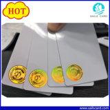 O preço de fábrica personalizou o cartão plástico impresso do PVC do espaço em branco do cartão de Card/PVC