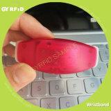 Wrs21 Contactless pulseira, RFID assista com luz de LED (GYRFID)