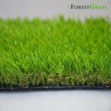 (COMO) Hierba artificial verde de mirada natural para el patio trasero
