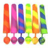 Popsicle macio do silicone do produto comestível do FDA para o gelado do silicone (XY-SC-002)