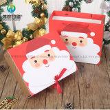 Bolsa de papel de empaquetado de la alta calidad del regalo de encargo de la Navidad