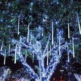 luces de la ducha de la Navidad de la luz LED del meteorito de los 80cm SMD