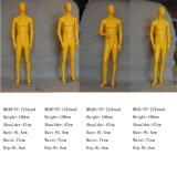 Weißes Fiberglas-kopfloses männliches Mannequin für Bildschirmanzeige
