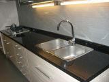 Высокая полированного искусственного кварца камень кухонном столе для коммерческих