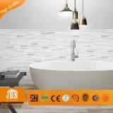 浴室の壁のタイルの卸売のクリスタルグラスのモザイク(G655009)