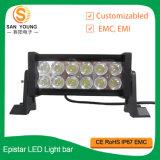 Barras ligeras campo a través 36W del LED para la barra ligera del trabajo de Hight Brighness IP67 LED del barco del carro