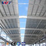 Helle Garage-Stahlkonstruktion-vorfabriziertgebäude für Verkaufs-/Light-Stahlrahmen-vorfabriziertes Lager-Stahlkonstruktion