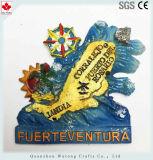 Función termómetro mini nevera imán Roquetas De Mar Souvenir en español