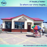 Belle maison légère préfabriquée de structure métallique de Chine