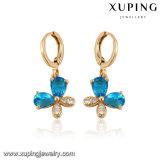 Xuping 형식 여자 금에 의하여 도금되는 귀걸이 (24744)
