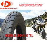 Motorrad zerteilt Qualitäts-Motorrad-Gummireifen 3.50-10 Tt/Tl