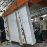 Marmo di marmo bianco di bianco cinese delle lastre di Guangxi