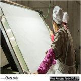 Chemise de polyester et coton tissé d'interligne de l'interligne