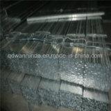 Od: 20mm tubo de acero galvanizado para valla