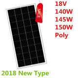 18V 140W-150W Polysolarzellen-Panel
