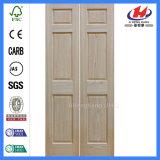 24 portelli di legno pieganti dell'armadio Louvered Bifold di pollice