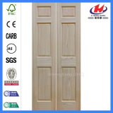 24 двери Bifold Louvered шкафа дюйма складывая деревянных