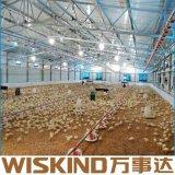 Châssis en acier préfabriqués de SGS ferme avicole à haute résistance