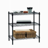 Space Saver 3 Tier Home Office Sturdy Metal Frame Material Storage Rack