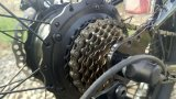 '' cruzador elétrico da praia do pneu gordo traseiro da E-Bicicleta do Hummer do motor 26