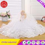 Свадебные платья девочек пластиковые устраивающих кукла в подарок