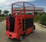 四輪トラック引っ張られた可動装置はハンドルが付いている上昇を切る