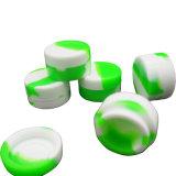 Neue prägende Entwurfs-nicht Stock KLEKS Hilfsmittel oder Silikon-Behälter des Drucken-Firmenzeichen-5ml für Wachs-Öl