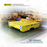 Carrello materiale della guida dell'onere gravoso del carrello della pista di funzionamento del motore di CC