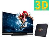 Mx小型TVボックスアンドロイド7.1のAmlogic S905Wのクォードのコア64bit 1GB RAM 8GB ROM 2.4GHz WiFiサポート4K HD
