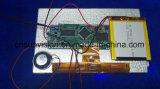 """7つの"""" IPS LCDの健全なモジュールのビデオパンフレットの郵便利用者のカード"""