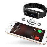 メッセージ流し、NFC、スリープの状態であるまたは心拍数の検出のスマートなブレスレット