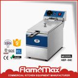 Friggitrice elettrica dell'acciaio inossidabile (CE approvato) (HEF-6L-2)