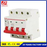 La muestra libre MCB DC/AC, 1-6A 10-32A 40-32A, 6ka/10ka alta capacidad de fractura, 1p a 4p, 230V/400V, SGS ISO9000 ISO14000, ventas de RoHS del Ce de la fábrica dirige