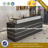 (HX-8N1809) Bureau de verre en bois MDF de partition de 2 sièges Workstation