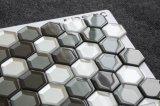 Yq1005 de Nieuwe Badkamers van het Mozaïek van het Glas van het Netwerk van het Ontwerp Hexagon