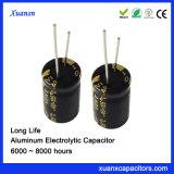 63V 220UF lange Lebensdauer-elektrolytischer Aluminiumkondensator
