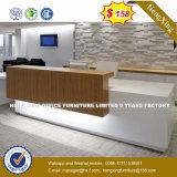 Forme de l Manager Table de bureau Mobilier de bureau en bois (HX-8N1754)